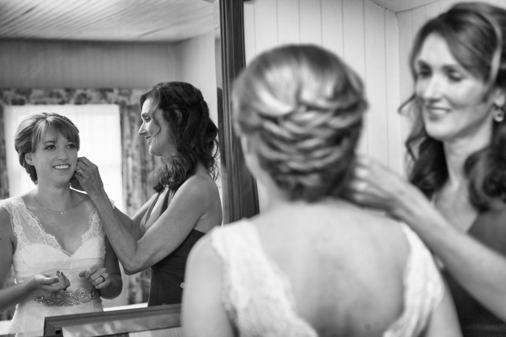 Visagie foto bruiloft.