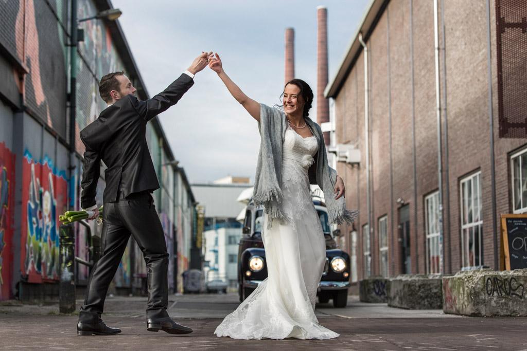 Bruiloft fotoreportage, Strijp S