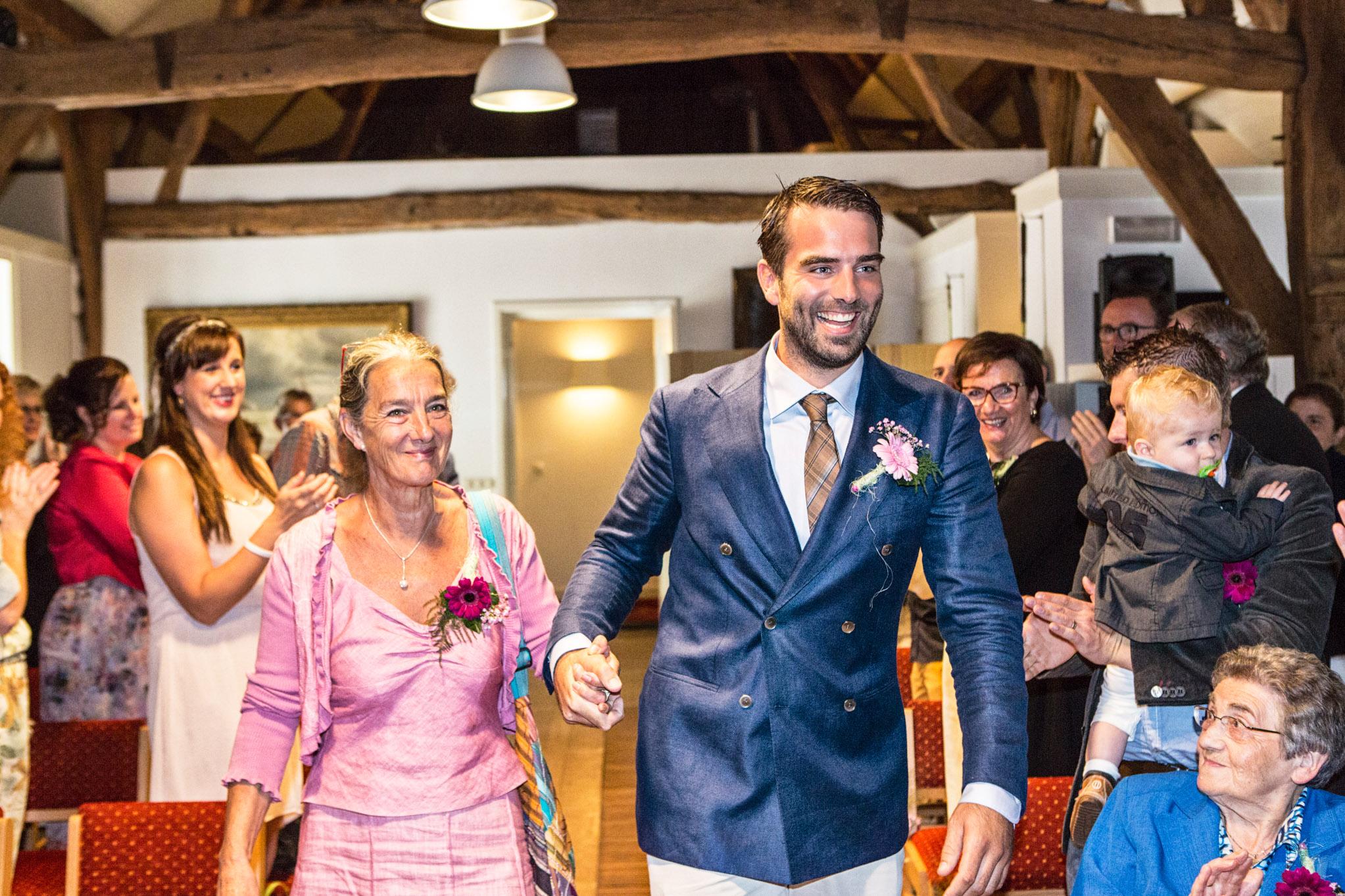 Bruiloft reportage landgoed Baest