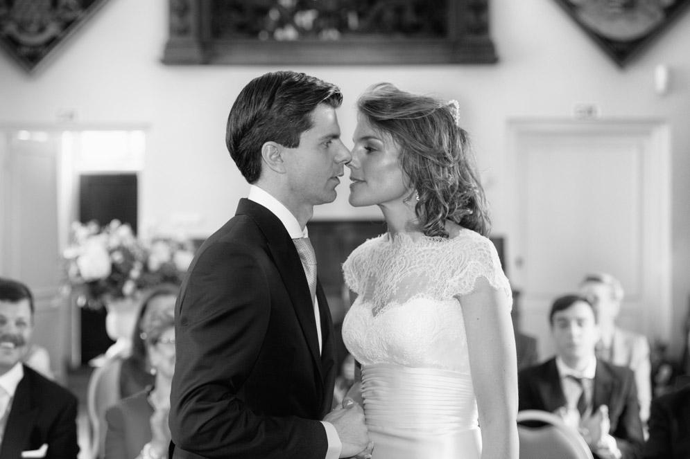 Bruiloft foto, Kasteel Heeswijk