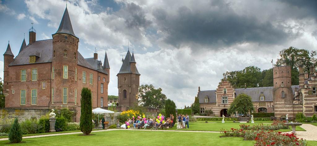 Bruiloft foto kasteel Heeswijk
