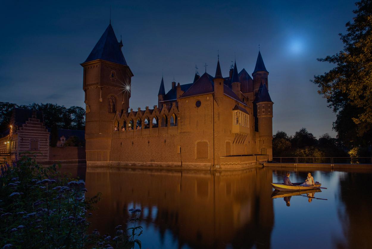 Trouwbootje kasteel Heeswijk.