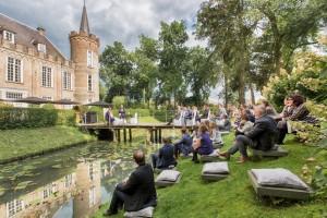 Fotoshoot ceremonie, Bruiloft foto, Fotoreportage kasteel, Henkenshage
