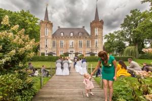 Kasteel Sint Oedenrode, Trouwlocatie, Ceremonie bruiloft, Stijlvolle trouwfoto, Trouwfotograaf, Noord Brabant