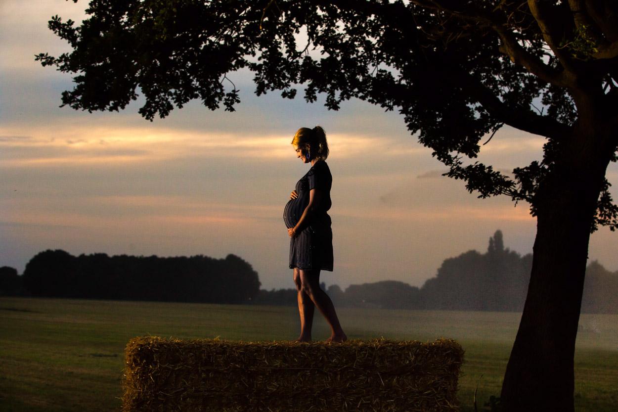 Zwangere vrouw, Het Brabants Genot, Waalre