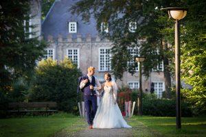 Romantische bruidsfoto Kasteel Henkenshage