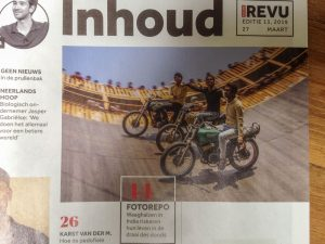 Publicatie FischerFotografie in weekblad de Nieuwe Revu.
